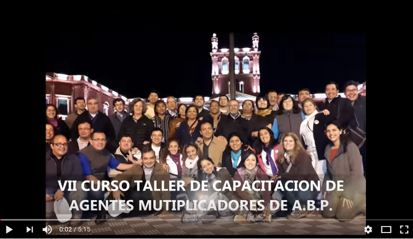 Paraguay-CELAM: VII Curso-Taller de Capacitación de Agentes Multiplicadores deABP