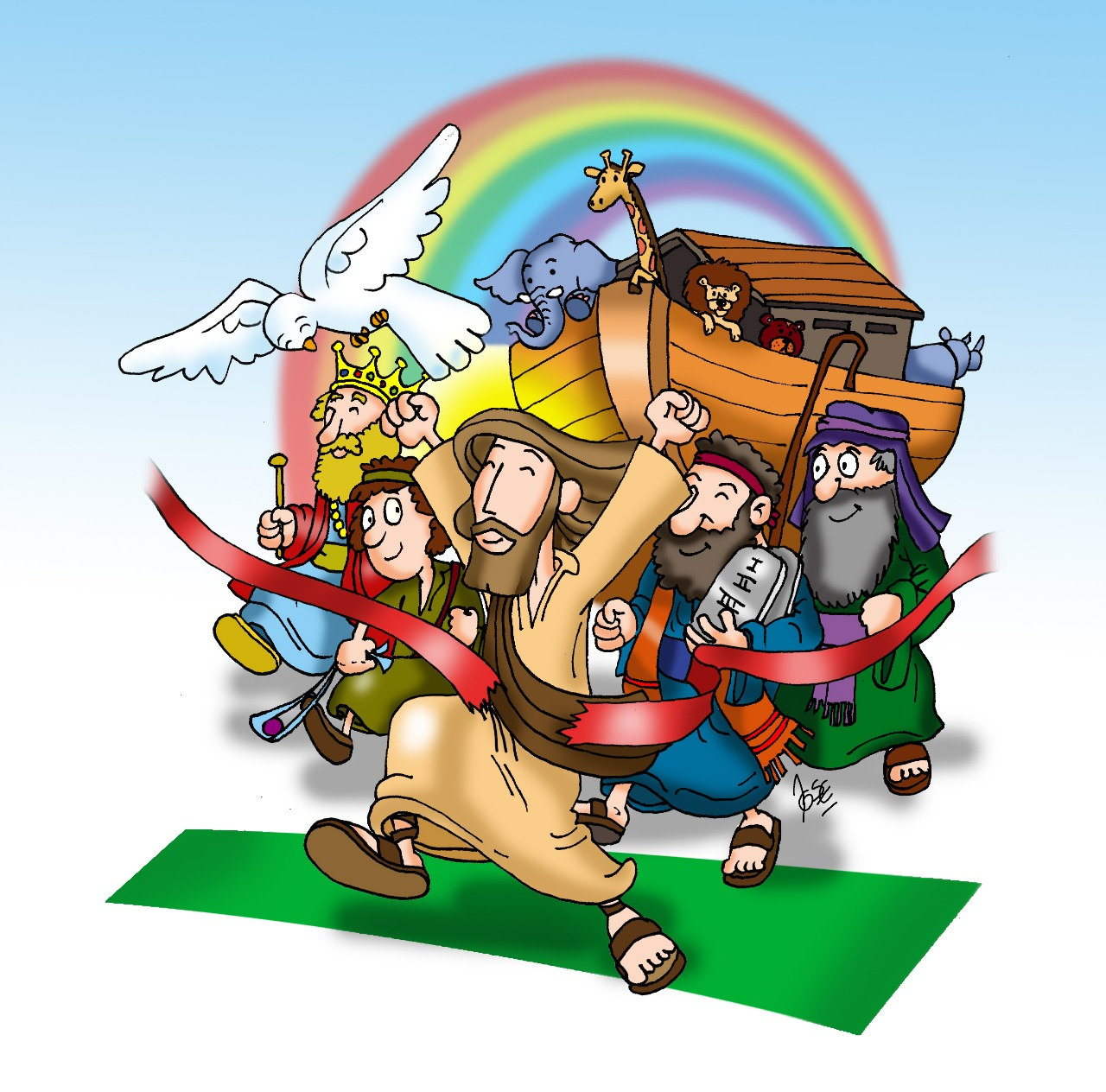 Se Viene La Maratón Bíblica Para Niños 2019 Animación Y