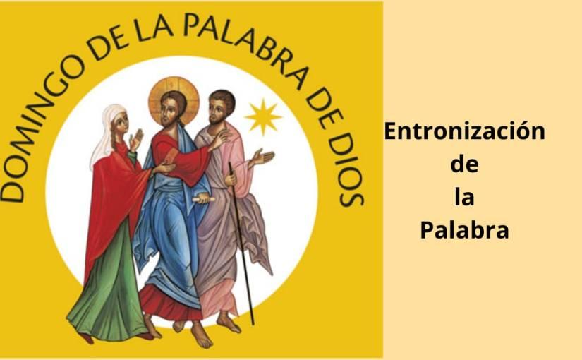 Entronización de laPalabra