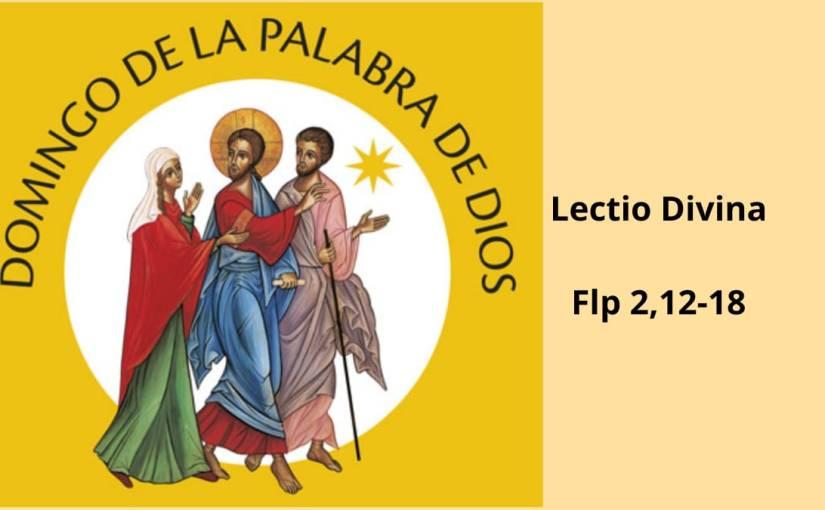 Lectio Divina sobre Flp2,12-18